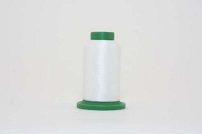 Isacord 1000m Polyester White
