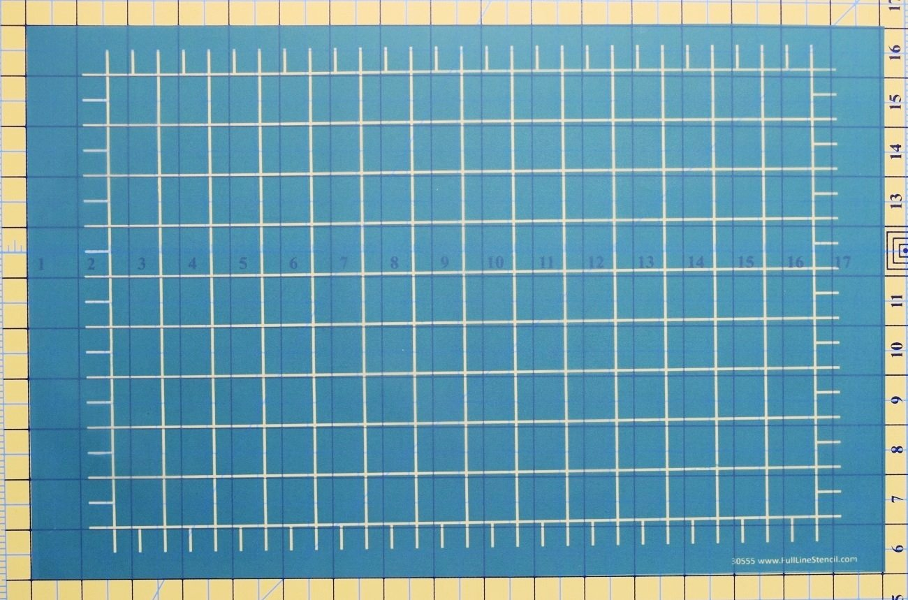 Full Line Stencil 1 Grid Debby Brown Quilts 30555