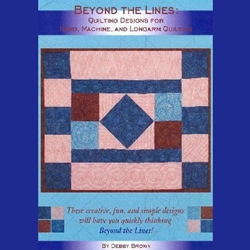 Quilt Basket Beyond the Lines - Quilting Designs for Hand Machine and Longarm Quilting