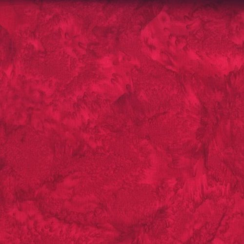 Hoffman Bali Hand-dyed Watercolors 1895-292 Cardinal
