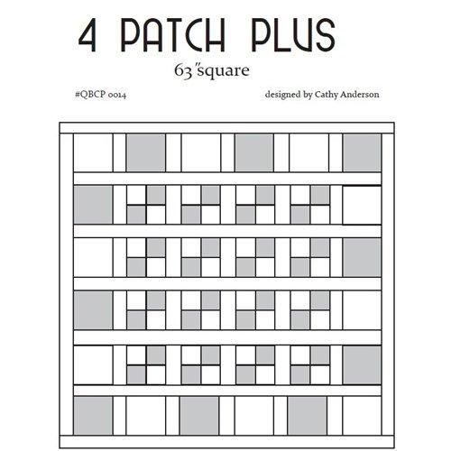 Cutie Pattern 4 Patch Plus QBCP-0014