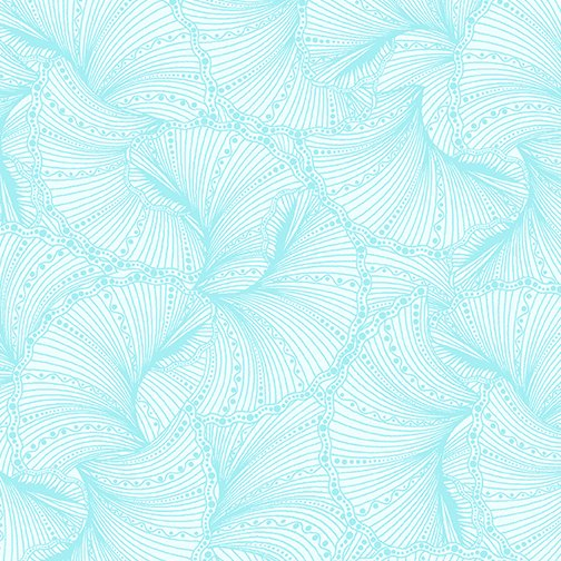 Benartex Believe in Unicorns Fanfare Light Turquoise 6857-04