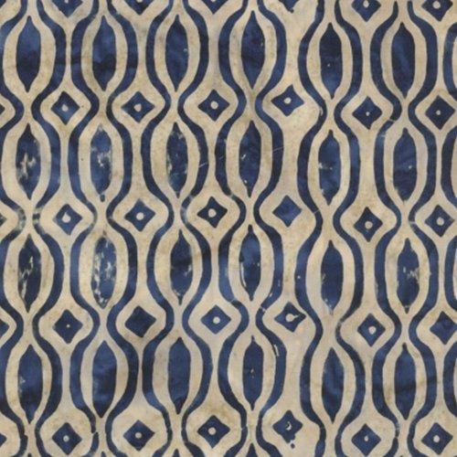 Calypso Blue Woodcut Indigo