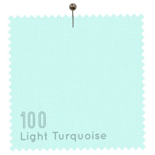 American Made Brand Cotton Solids 100 Light Turquoise