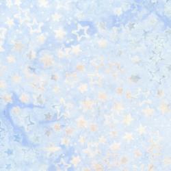 Jack Frost Stars Batik Whisper B2529 Whisper