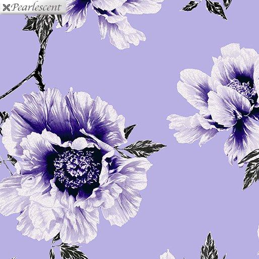 Benartex Violet Twilight Floral Lilac 7918P-60