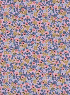 Rifle Paper Co. for Cotton + Steel Menagerie 8004 04 Metallic