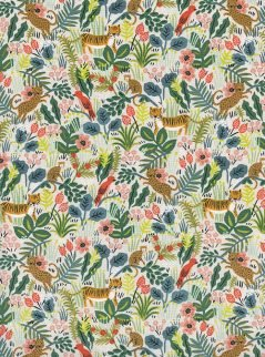 Rifle Paper Co. for Cotton + Steel Menagerie 8029 02