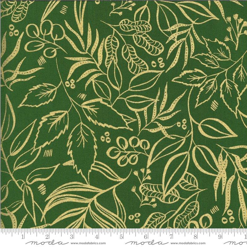 Moda Moody Bloom Metallic Jungle 8449 37M