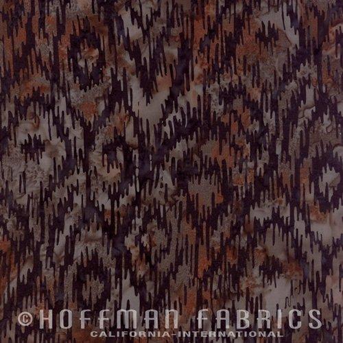 Hoffman Bali Chop Ikat Walnut