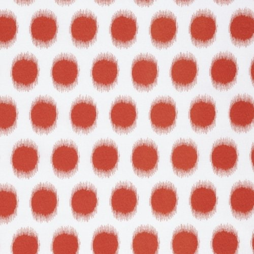Free Spirit Butterfly Garden Ikat Dot Red PWDF229 RED