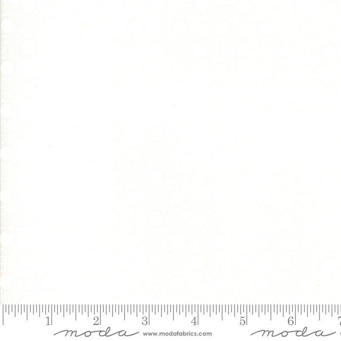 Moda Muslin Mates  White on White 9981 11