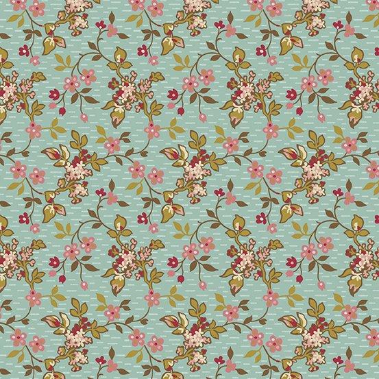 Andover Super Bloom Jasmine Dakota Sky A-9448-B