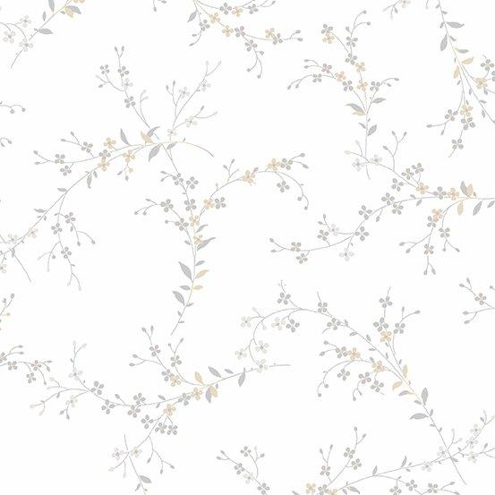 Andover Willow Fine Vine Grey A-9612-C