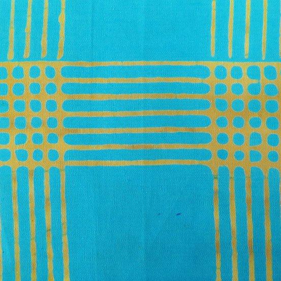 Andover ChromaAB-8132-T Plaid Turquoise