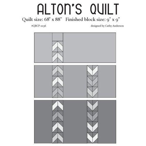 Cutie Pattern Alton's Quilt QBCP-0036