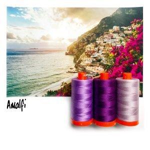 October Aurifil Thread Club - Amalfi Purple