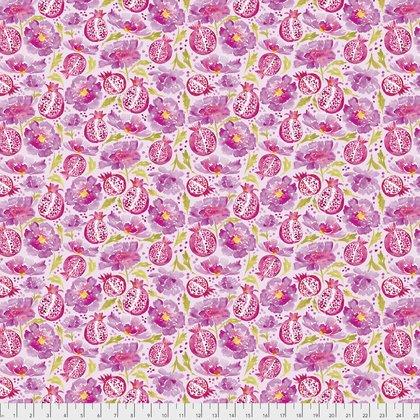 Free Spirit Artichoke Garden Peonies & Poms Pink PWCH005 PINKX