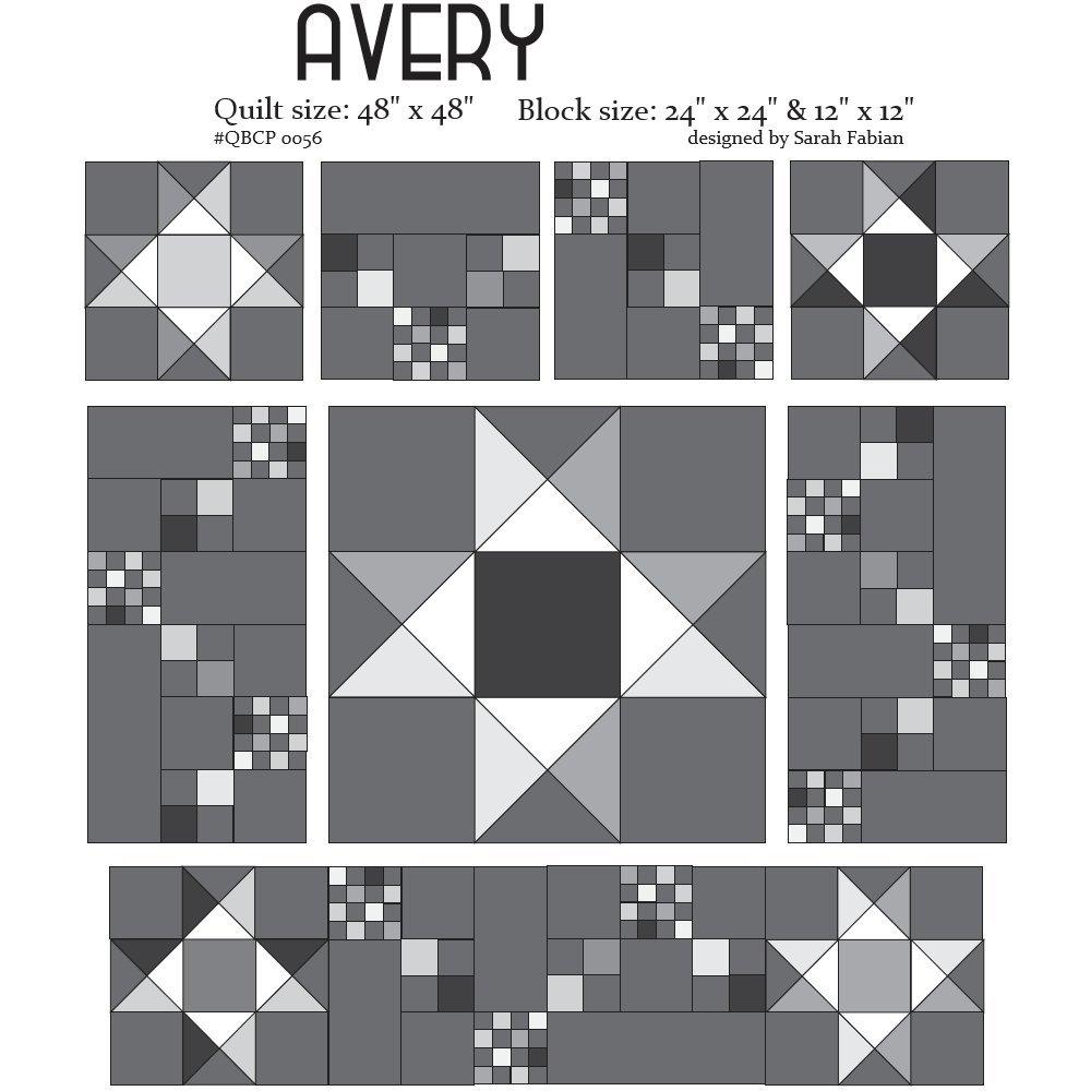 Cutie Pattern Avery QBCP-0056