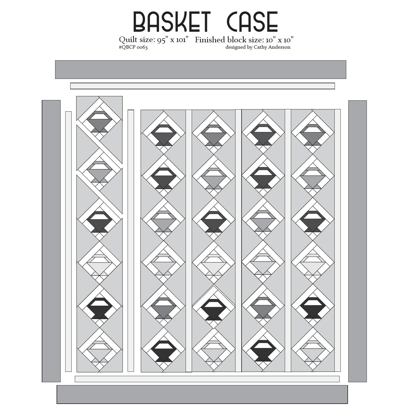 Cutie Pattern Basket Case QBCP-0063