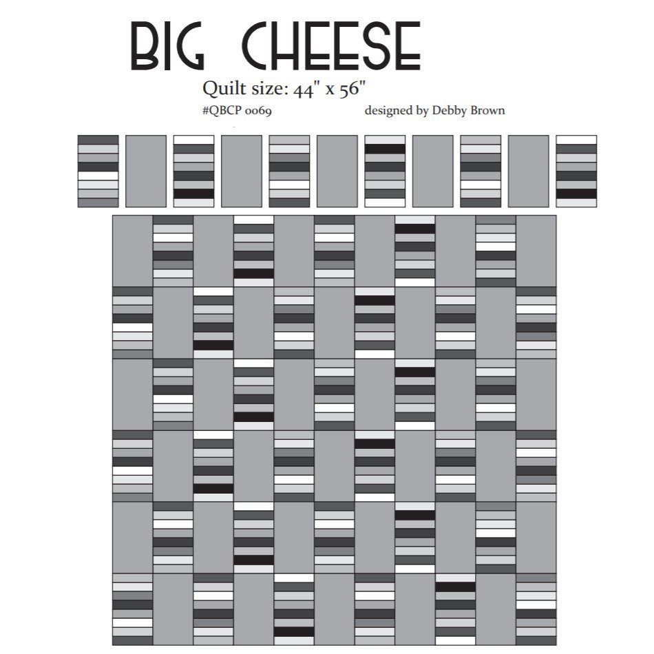 Cutie Pattern Big Cheese QBCP-0069