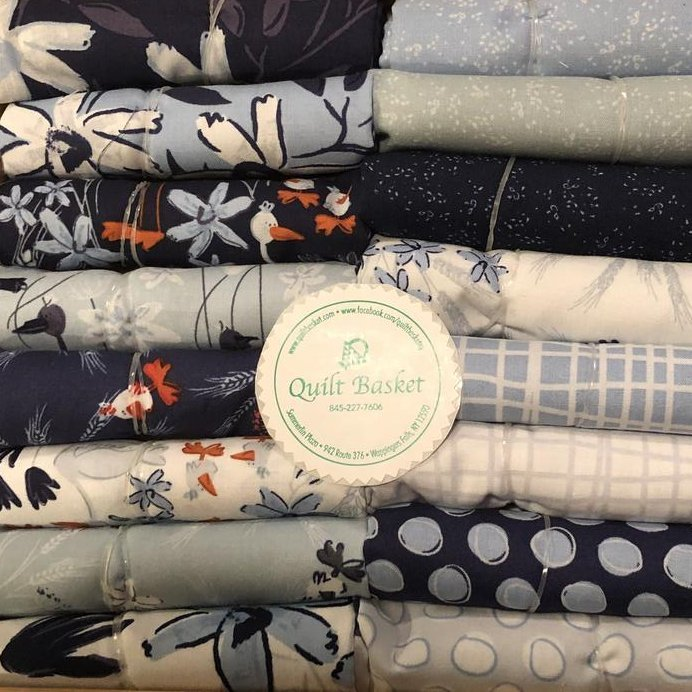 Cutie Collection  Clothworks Blue Goose QBCC-208
