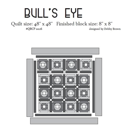 Cutie Pattern Bull's Eye QBCP-0026