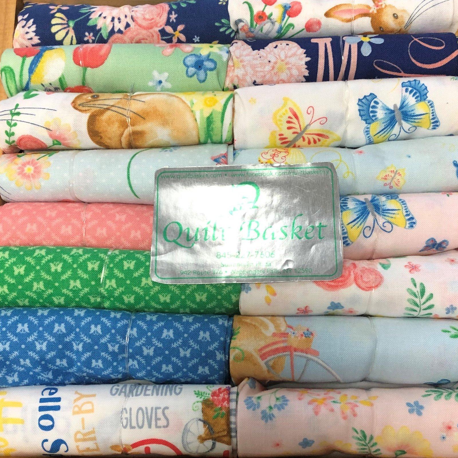Cutie Collection Benartex Bunnies & Blossoms QBCC-0194