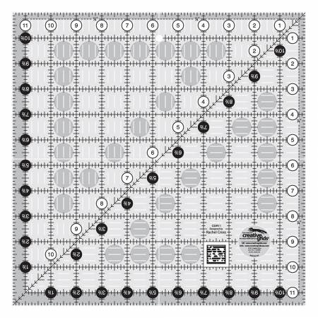 Creative Grids 11.5 x 11.5 rule CGR11