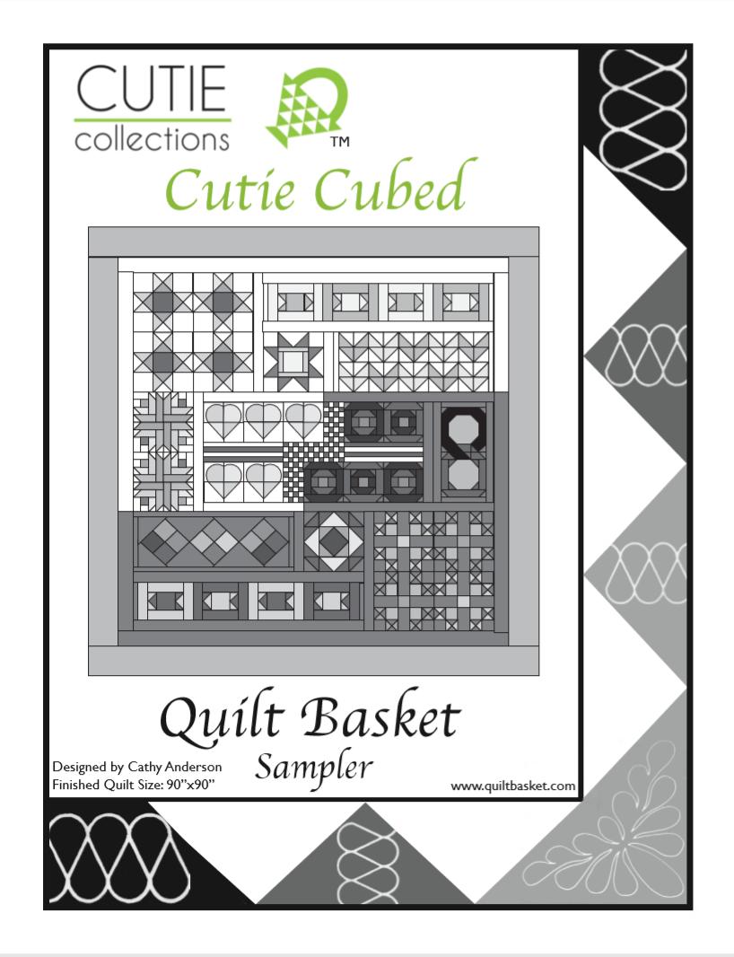 Cutie Pattern Sampler Cutie Cubed QBSAM-0001
