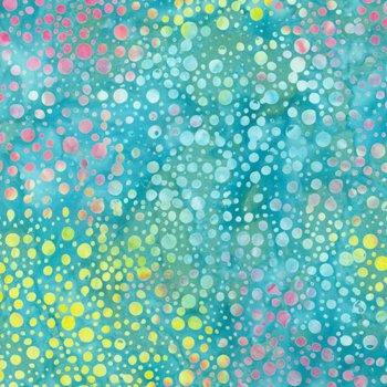Sew Batik 110 Wide Batik Backing Dot Blue Atoll 10802-1205