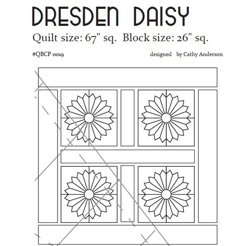 Cutie Pattern Dresden Daisy QBCP-0019
