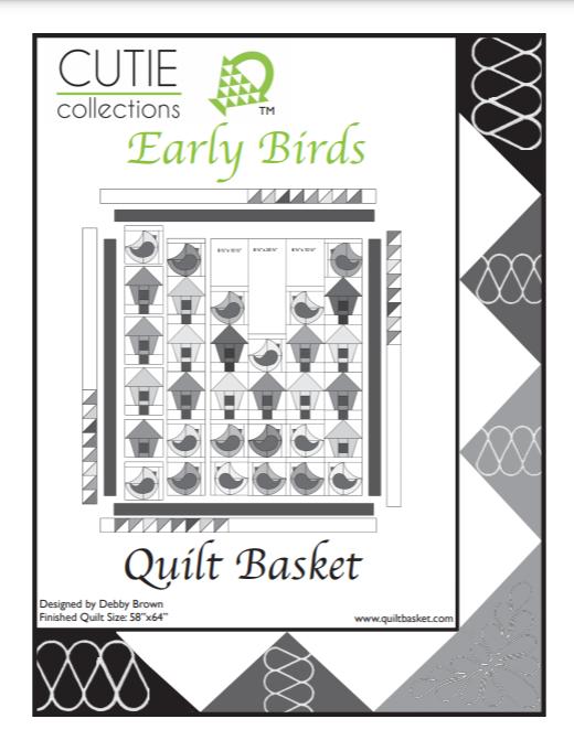 Cutie Pattern Pamphlet Early Birds QBPAM-0002