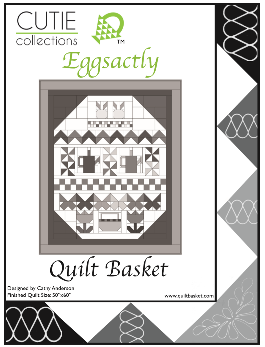 Cutie Pattern Sampler Eggsactly QBSAM-0004