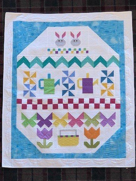Quilt Basket Eggsactly Color Weave