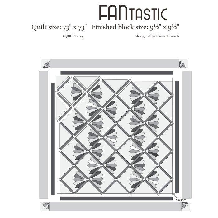 Cutie Pattern FANtastic QBCP-0053