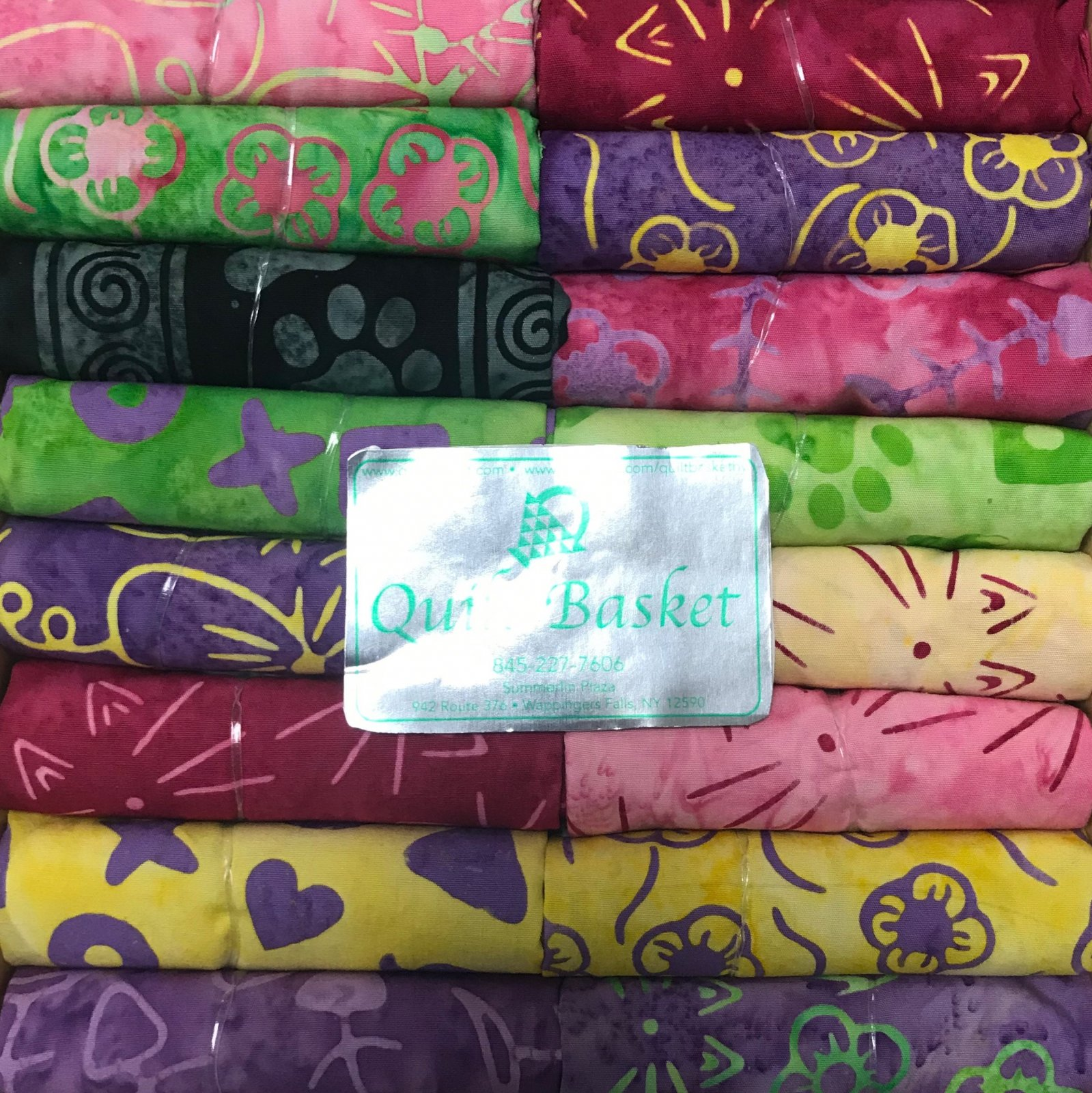 Cutie Collection Island Batik Feline Fine QBCC-0170