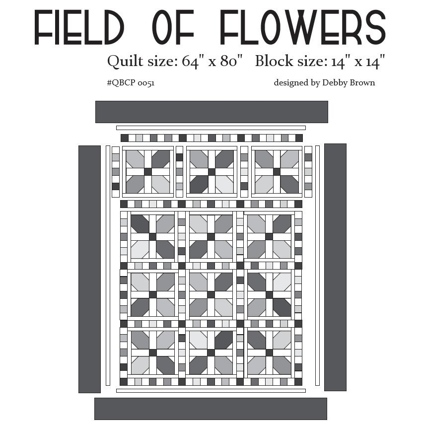 Cutie Pattern Field of Flowers QBCP-0051