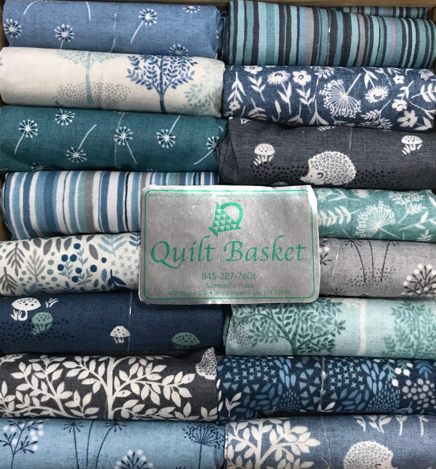 Cutie Collection Andover Woodland by Makower UK QBCC-0147