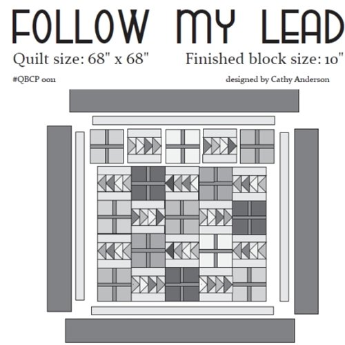 Cutie Pattern Follow My Lead QBCP-0011