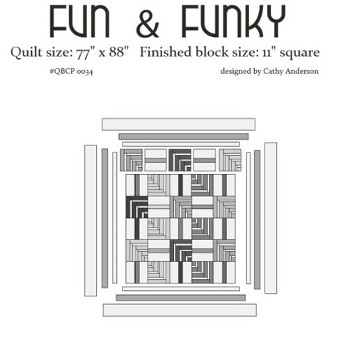 Cutie Pattern Fun & Funky QBCP-0034