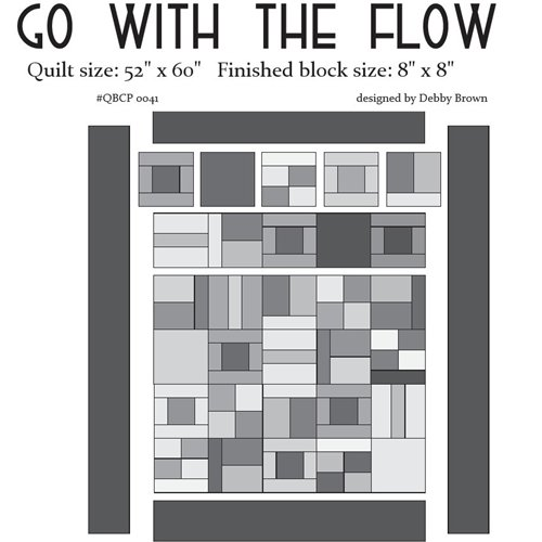 Cutie Pattern Go With the Flow QBCP-0041