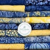 Cutie Collection Island Batik Harvest Blue QBCC-0217