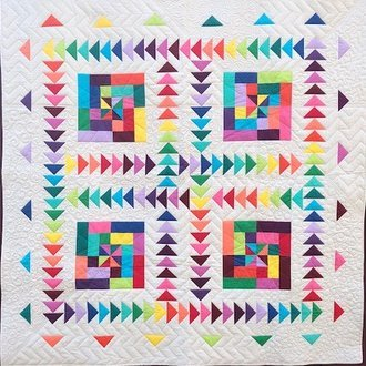 Quilt Basket HillBilly's Puzzle Quilt Kit