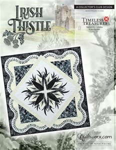 Quiltworx Irish Thistle