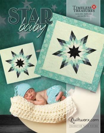 Star baby Quilt Kit