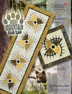 Quiltworx Judy Niemeyer Rocky Mountain Bear Claw