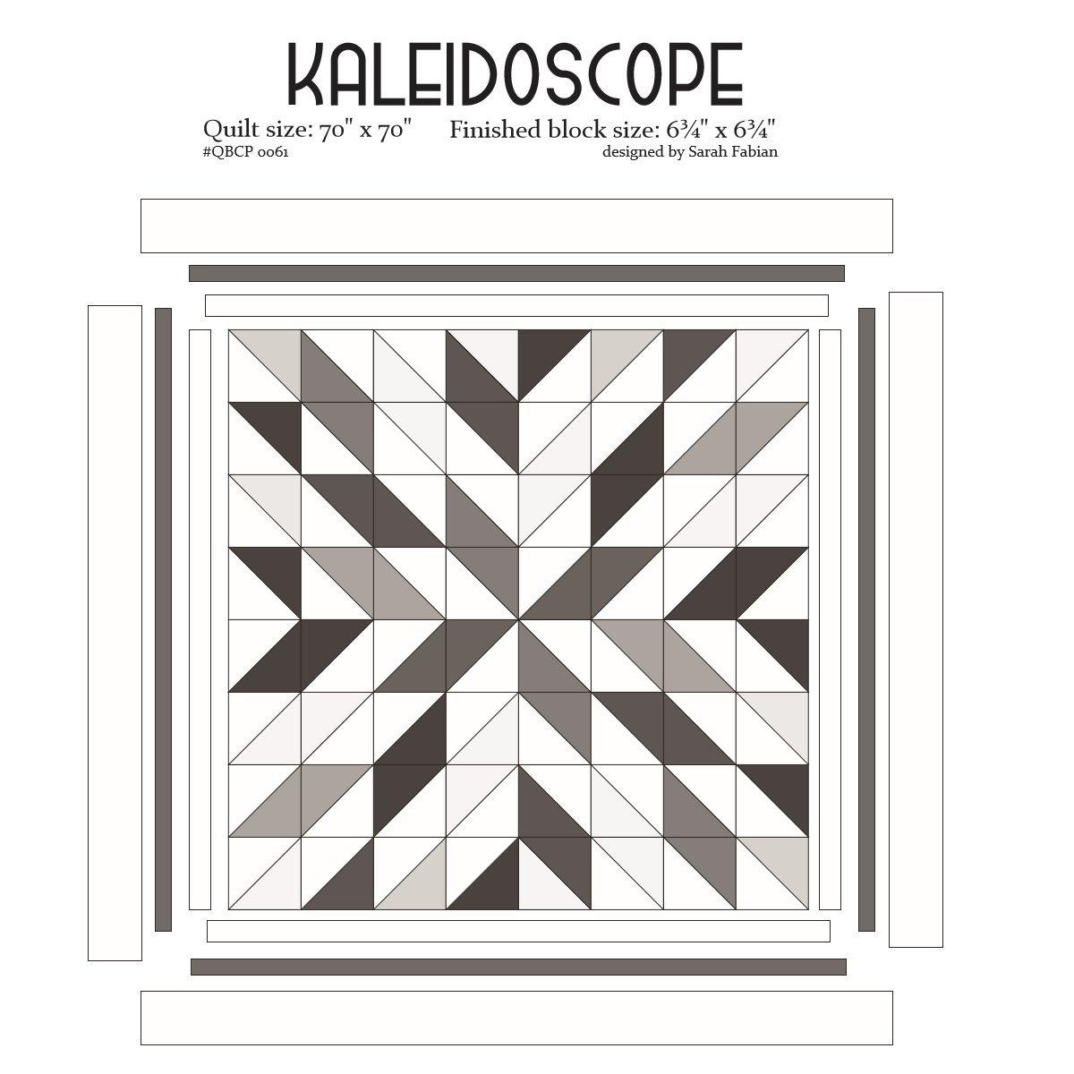 Cutie Pattern Kaleidoscope QBCP-0061