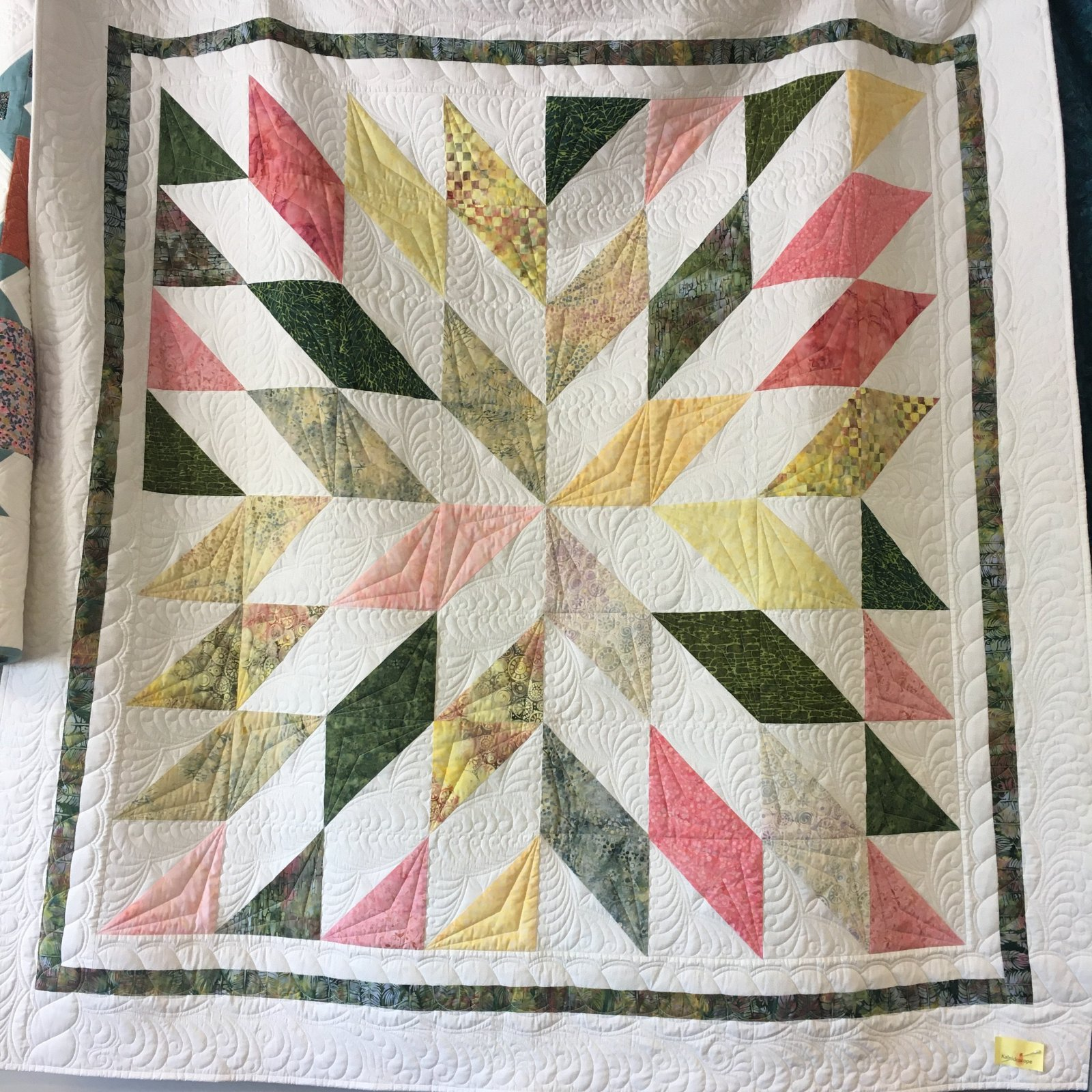 Quilt Basket Kaleidoscope Quilt Kit
