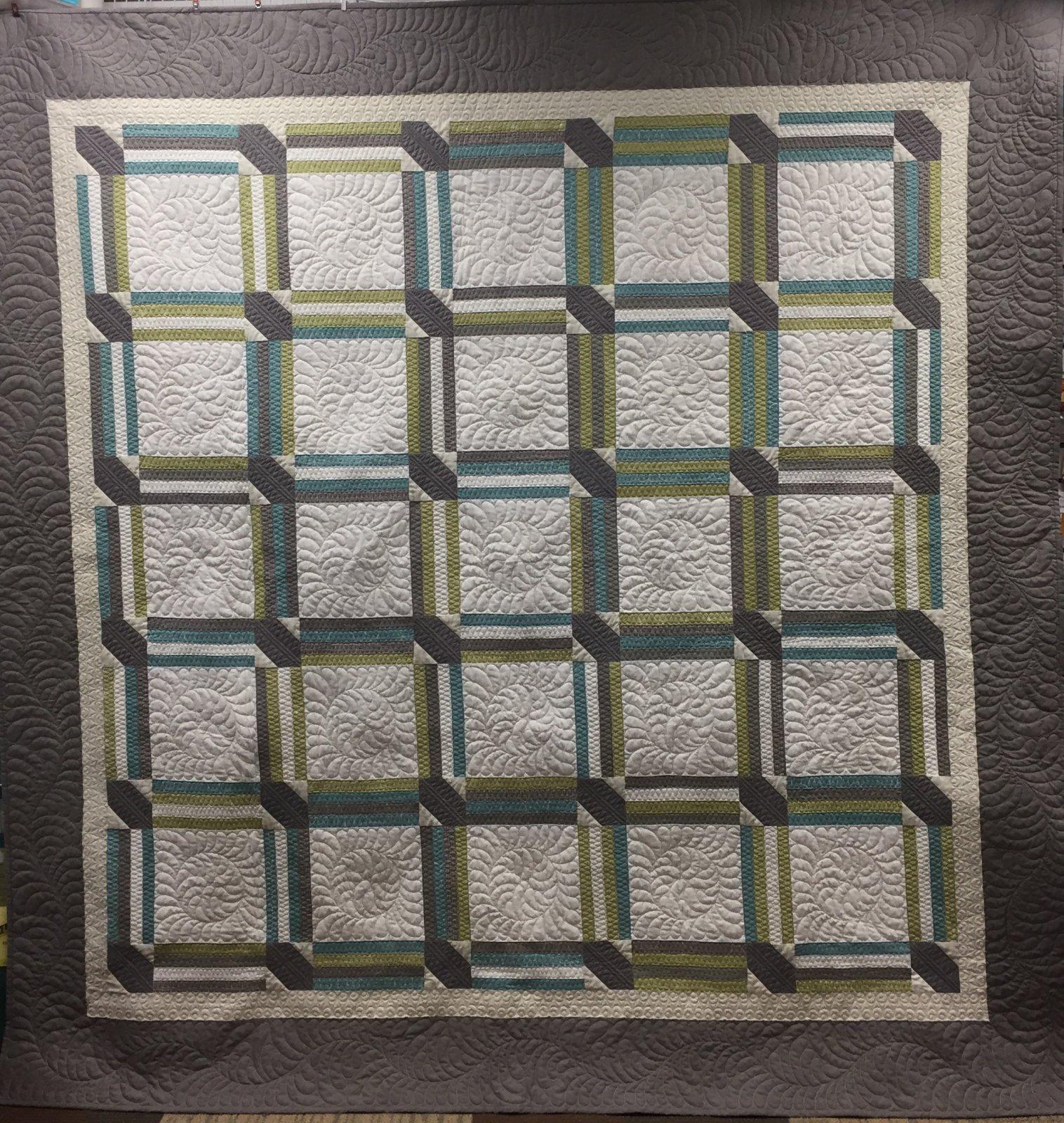 Quilt Basket Modern Wedding Quilt Kit